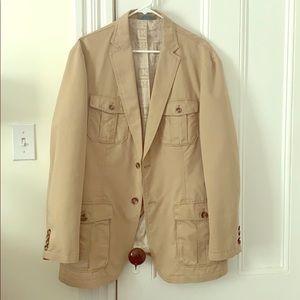 Men's Khaki Jacket (Beige/Tan)